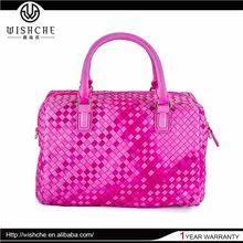 Wishche Fashion Party Bags Female Leather Handbag Manufacturer China Market Guangzhou Handbag Wholesale Supplier Handbag W097