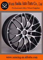 """18"""" 19"""" and 20"""" black machine face forged aluminum alloy wheel"""