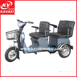 KAVAKI Latest Design Popular Electric Start Tourist 3 Wheel Tricycle Using 48V Battery