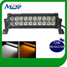 Newest design two color transform Top quality led light bar for off road vehicles