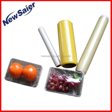 food cover fruits vegetables wrapping film plastic wrap pvc cling film