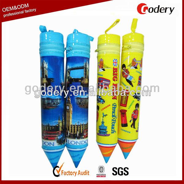 2015 Promotional Zipper Pencil Case Pvc Pencil Case