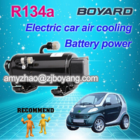 boyang 12v compressor electric truck cooling van replace websto portable air conditioner for cars