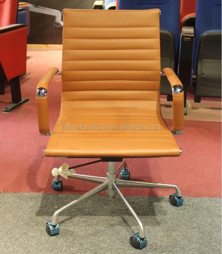 Negro moderno de cuero ejecutivo sillas giratorias de - Ruedas para sillas giratorias ...