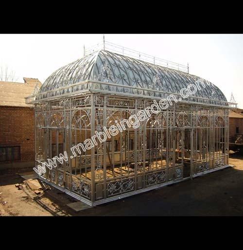 Gazebo in ferro battuto gazebo da giardino in ferro chy-ig016 La Cina ...