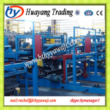 High Speed Mineral Wool (or Rock Wool) / Glass Wool Sandwich Panel Production Line