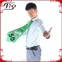 green 60 funny giant birthday party tie