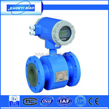 Gold supplier china fluid electromagnetic flow meter for water and supply industry