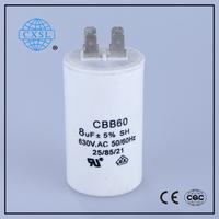 Good Rating CBB60 Aluminum Package Type Capacitance