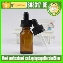glass essential oil e lqiquid bottles and glass vials for cosmetic facial oil packing