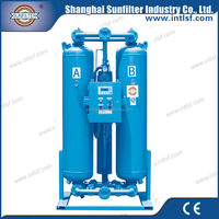 heated desiccant dryer for air conditioning filter drier
