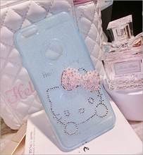 Rhinestone bling cell phone case cover