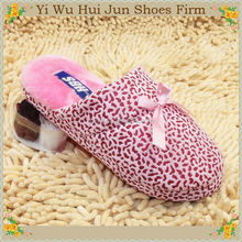 Fashion High-Heeled High-Heeled Bunny Cotton Slipper For Women Comfortable Disposable Cotton Terry Hotel Slippers