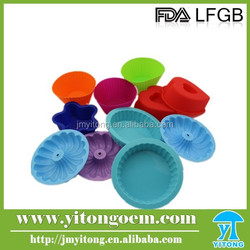 Multi-functional Customized Silicone Cake Molds,for Family Microwave Use