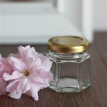 45ml elegant mini honey jar wedding favors