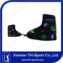 Updated innovative black golf club head covers wholesale