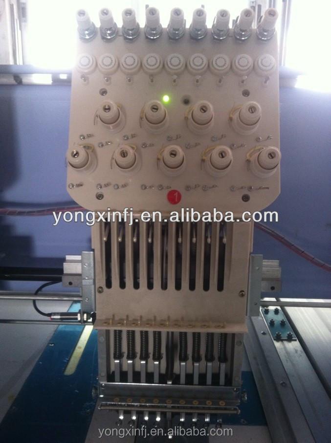 Computerized Flat Embroidery Machine Embroidery Saree
