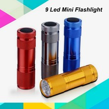(130306) Factory Sale 9 Led Torch Flashlight,Brightest Led Torch,Best Led Light