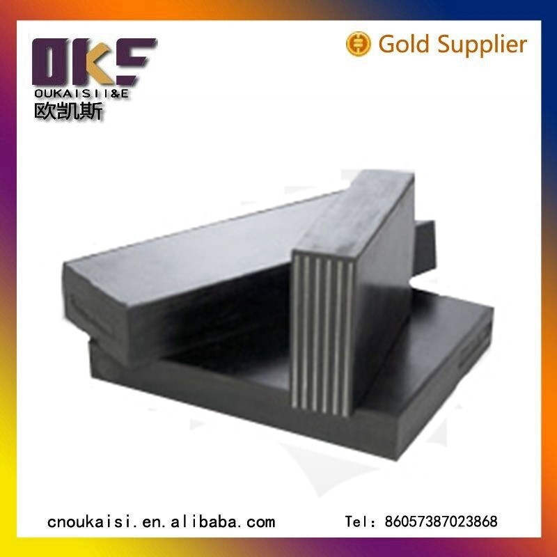 High quality elastomeric bearing pad ptfe rubber bridge