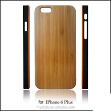 "Bamboo /Wood PC phone case cover for Apple Iphone 6 Plus 5.5"" case"