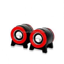 2.0 speaker/multimedia speaker/computer speaker bluetooth mini speaker waterproof with led light