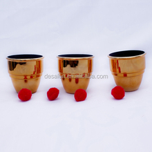 magic tricks Best Magic Cups and Balls(golden)