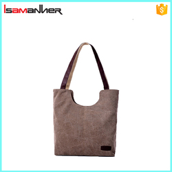 Casual shoulder canvas tote bags manufacturers wholesale