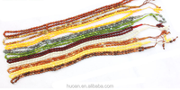Factory direct sale colorful acrylic oval prayer tasbih cheap price for women