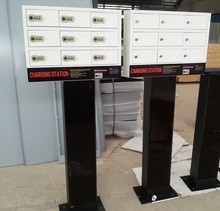 China mobile phone charger locker cell phone charging station
