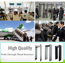 Public security Waterproof Walk Through Metal Detector,Metal detector gate,full body scanner