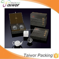 Taiwor Custom Deisgn Paper Packaging Tea Cup and Saucer Box