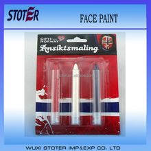 Fans Face Paint (make up stick) kids birthday party supplies,crayon ,painting tool