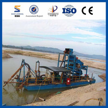 High Performance River Gold Mining Equipment/Gold Dredge/Gold Bucket Dredger For Sale from SINOLINKING