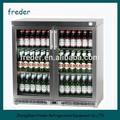 Venda quente mostrar bebida/cerveja mini freezer