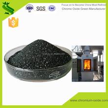 metallic fused refractory chromic oxide green on sale