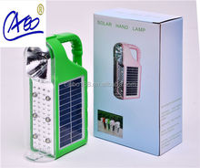 superb quality hand cranking solar led camping lanterns with solar panel charge