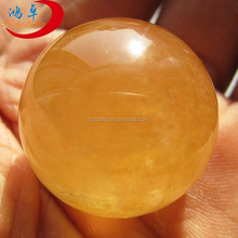 Large raw stone ball natural citrine sphere factory wholesale