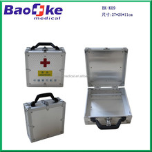 Custom Hme First Aid kit Case/ Professional Aluminium Alloy First Aid Kit Full of Medical Supplies