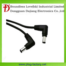 high quality factory price 5.5*2.1mm male to female dc wire