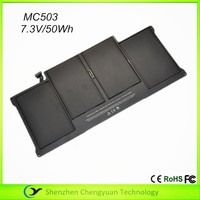 Test before shipping for Apple A1369 MC504 MC503 7.3V 50Wh notebook battery