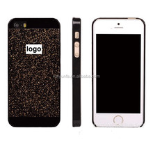 Popular shining glittering design hard phone case for Iphone 6 new case for lady