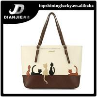 2015 new model wholesale cute cat brand imitations handbags