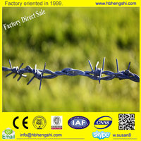 14*14 16*16 18#18 barbed wire cost/barbed wire china