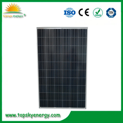 30V 250w poly solar panels in stock for bulk sale