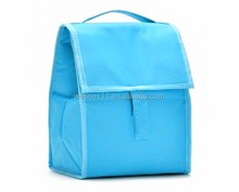 Promotion insulated lunch box cooler bag for frozen food
