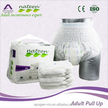 Soft absorbency pants diapers for adult