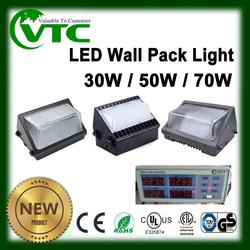 Outdoor led focus light UL CUL IES 30w 50w 70w 100w 120w led wall pack light