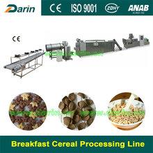 Alibaba express Popular automatic puffed corn snacks process line