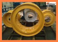 High Quality Multistar Brand OTR Wheel Rim 35-15.00/3.0 with Tire 21.00-35 for Earthmover/Loader/Heavy Duty Truck/Construction