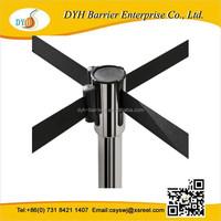 5 Meter Belt stainless steel Multi-Way Queue Stand & Queue Barriers Stand